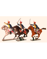 762 Toy Soldiers Set British Hussars, 10th (Prince of Wales's Own) Hussars Painted