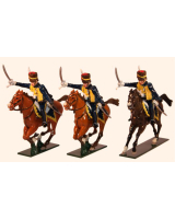 761 Toy Soldiers Set 7th Queens Own Hussars Painted