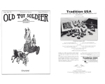 Old Toy Soldier Magazine 1996 Volume 20 Number 4 Chariots