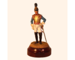 ToL 054 - Officer Bavarian Garde du Corps 1814 - Napoleonic War - Size 90mm Painted