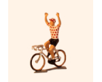 6802A The Polka Dot Jersey The winner of the King of the Mountain The Tour de France