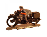 SFCC001 T.E Lawrence on his Brough Superior Motorcycle Painted