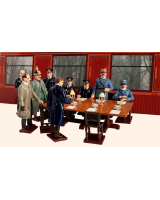 826 Toy Soldier Set The Signing of the Armistice Painted