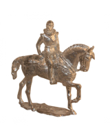 54mm Holger Eriksson - 010 - Charles IX, mounted, King of Sweden 1604-1611 Military Miniature - Unpainted