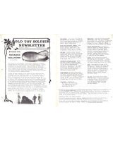 Old Toy Soldier Newsletter 1978 Volume 2 Number 3 Britains Ltd. Barrage Balloons