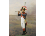 NF1082-01 Flutist Year 1810 Painted