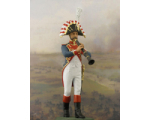 NF1086-01 Clarinettist Year 1810 Painted