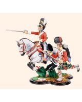 TG54 06 Royal Scots Greys Officer and 92nd Highlander Painted