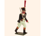 723 1 Toy Soldier Grenadier Officer advancing Kit