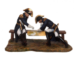 DRMN01 French Generals Moreau and Dessole Painted