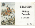 Stadden Military Postcard 12 Different No.001 - BMU 01-12 - British Regiment Coldstream Guards