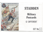 Stadden Military Postcard 12 Different No.002 - BMU 13-24 - British Regiment The East Surrey Regiment