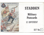 Stadden Military Postcard 12 Different No.003 - BMU 25-36 - British Regiment The East Surrey Regiment