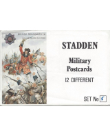 Stadden Military Postcard 12 Different No.005 - BMU 49-60 - British Regiment Coldstream Guards