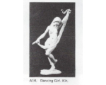A14 - Dancing Girl - Unpainted
