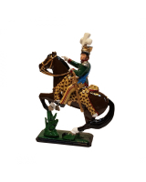 782 Toy Soldier Set - Joachim-Napoleon Murat Mounted in Polish uniform Unpainted, Kit