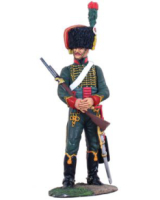36010 French Trooper Chasseurs a Cheval Waterloo 1815