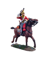 36055 British 1st Royal Dragoon Trooper Charging No.1