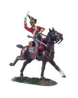 36063 British 1st Royal Dragoon Trooper Charging No.3