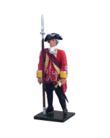 47035 British 35th Regiment of Foot Officer, 1754-1763