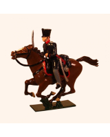 780-1 Toy Soldier Officer Landwehr Prussian Dragoons Napoleonic War Kit