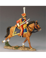 NA167 The French Army Charging Dutch Lancer Officer King and Country