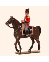 767 Toy Soldiers Set Senior Officer Mounted Painted