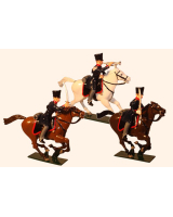 780 Toy Soldier Set Landwehr Prussian Dragoons Napoleonic War Painted