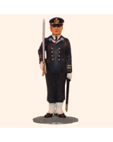 AL54 43 T.S. Officer Navy Guard dress Painted