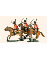 759 Toy Soldiers Set French Chasseurs a Cheval de la Garde Painted