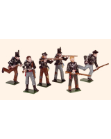 SR1 Toy Soldiers Set Sharpes Rifles Painted