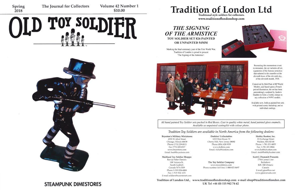 Old Toy Soldier Magazine 2018