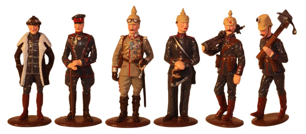 2016 Christmas set - The German Army - The First World War 1914-1918 - 54mm