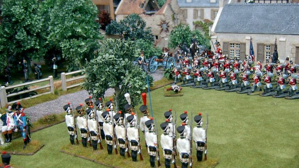 Model Soldiers 54mm Kettledrummer