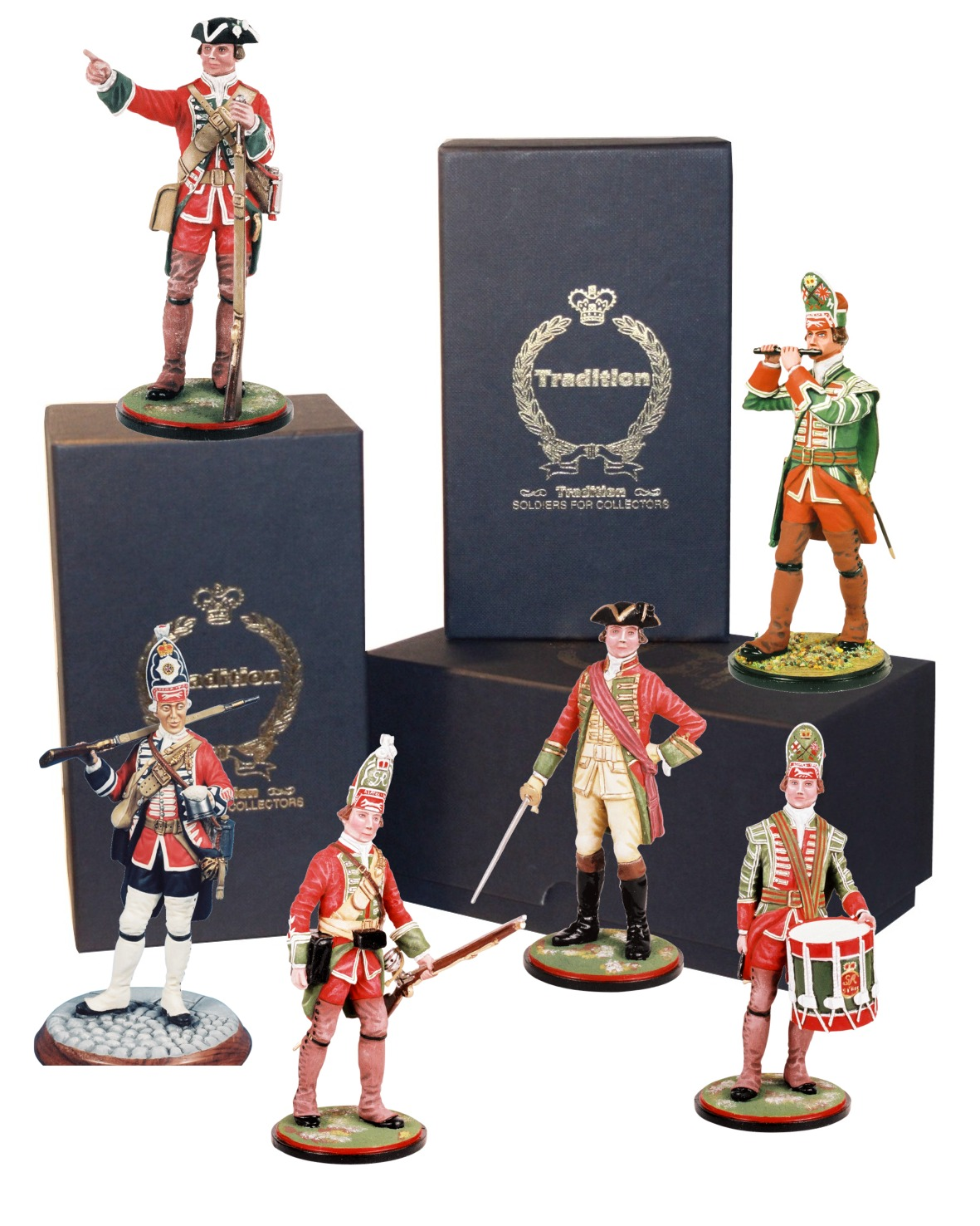 Model Soldiers British Army 1747-1794