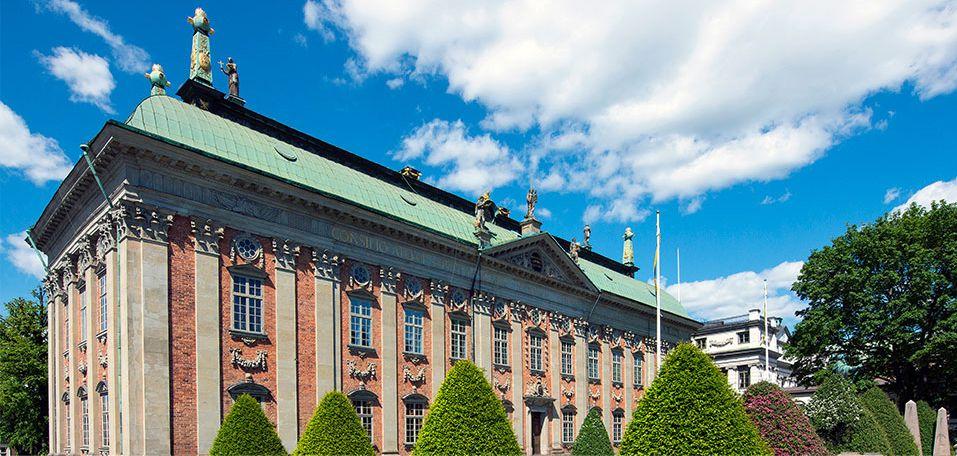 The Nobel Hose -Riddarhuset, Stockholm