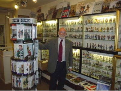 Steve Hare Shop magager Curzon street