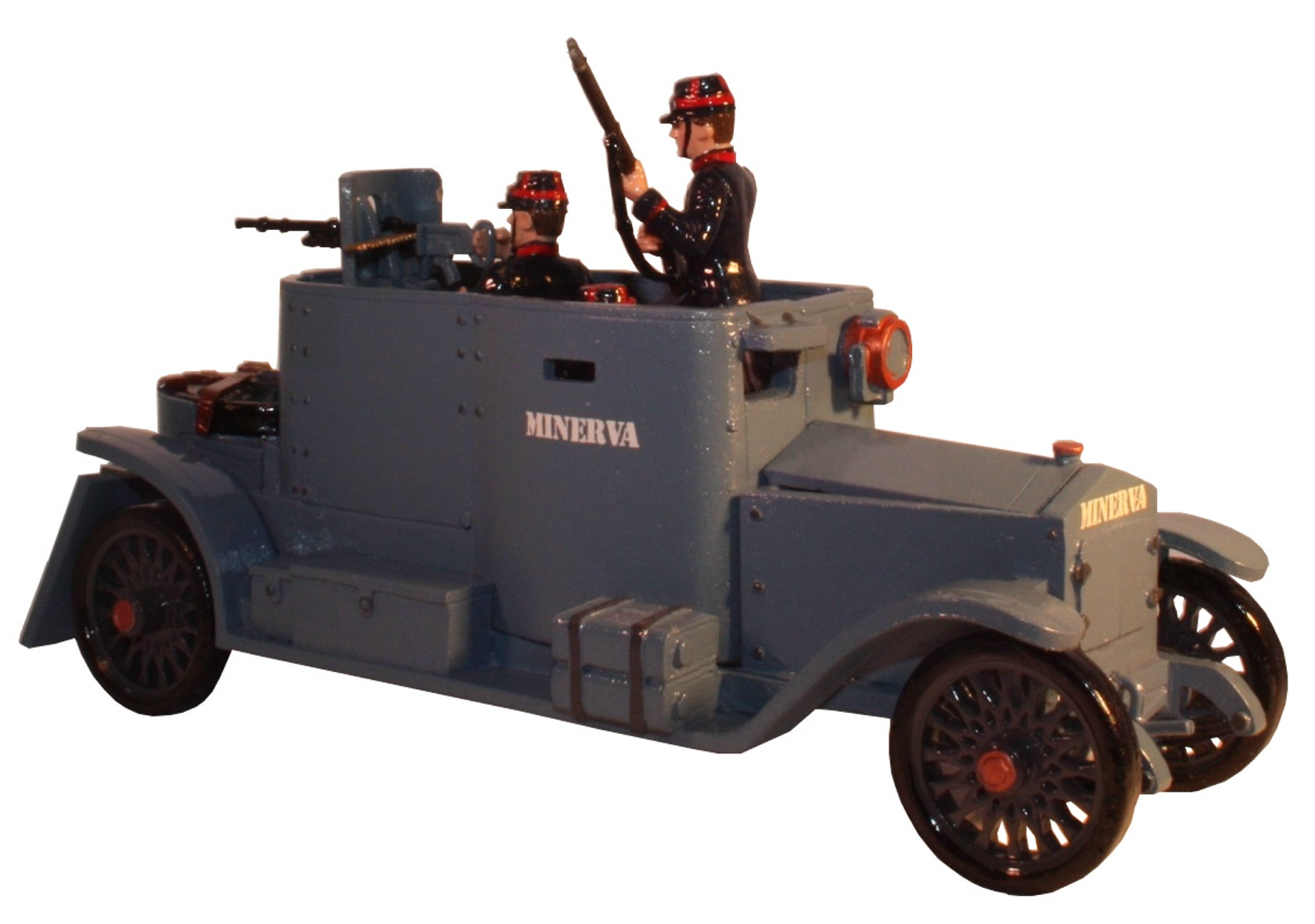 Toy soldier set The Minerva Armoured Car