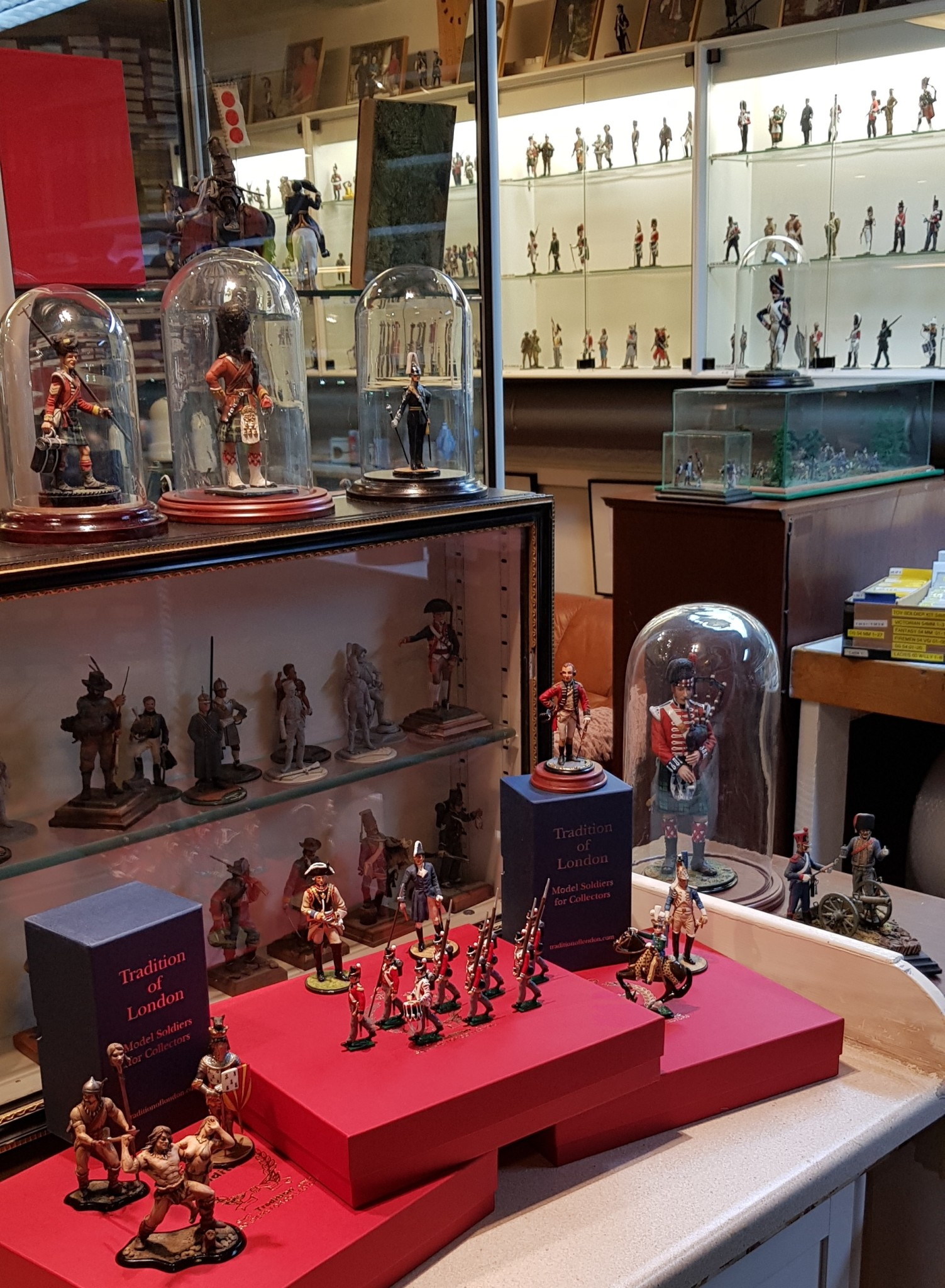 Toy Soldier Showroom Stockholm ToL