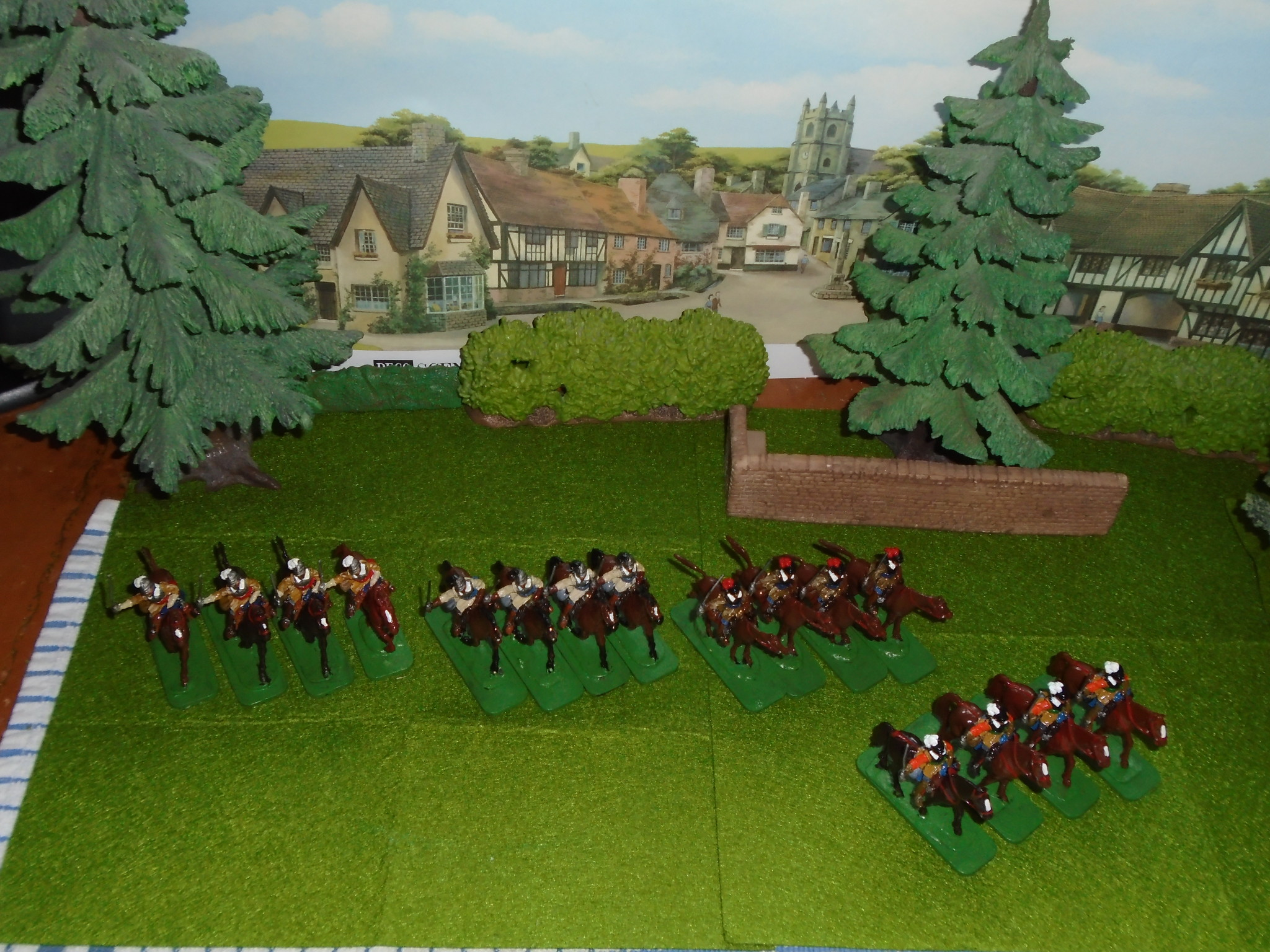 Toy Soldiers painted by Stuart  Asquith