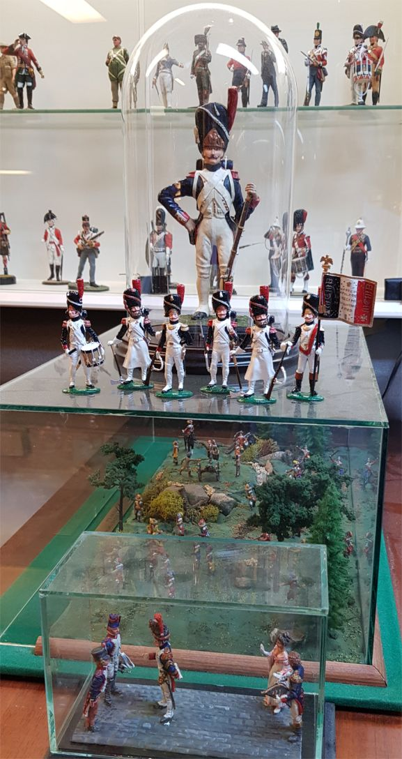 2020 Christmas set Garde Grenadiers Full Dress 1804-1815 The French Army - 54mm Painted in Gloss