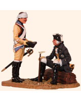 VG90 01 The Evening of Kollin King Frederick the Great and a Prussian Cuirassier Painted