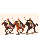 0763 Toy Soldiers Set British Hussars, 10th (Prince of Wales's Own) Hussars Painted