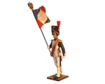NF1003-01 Standard bearer Year 1810 Painted