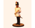 Sqn80 030 Bandsman at attention with Keyed bugle 11th Foot 1858 Painted