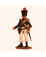 NF 01A Officer French Line Infantry Campaign Dress 1809-1815 Painted