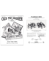 Old Toy Soldier Magazine 1993 Volume 16 Number 6 Five Year Index Plus Articels and Regular Features