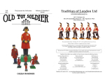 Old Toy Soldier Magazine 2017 Volume 41 Number 3 Chelsea Pensioners