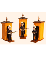 Toy Kit 1002 Foot Guard Guard Dress Full Dress with sentry box Kit