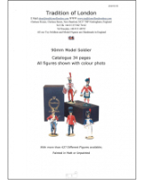 90mm Model Soldier Catalogue - Order Paper or PDF further down right!